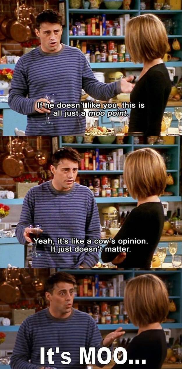 Some Of The Funniest Quotes From The Hit TV Show Friends ...