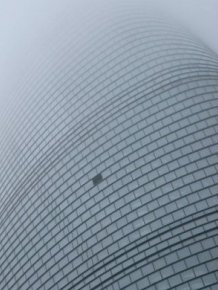 Tesla Driver Injured After Window Falls From The Shanghai Tower