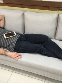 CEO Falls Asleep On The Couch And Wakes Up To Find Out He's A Meme