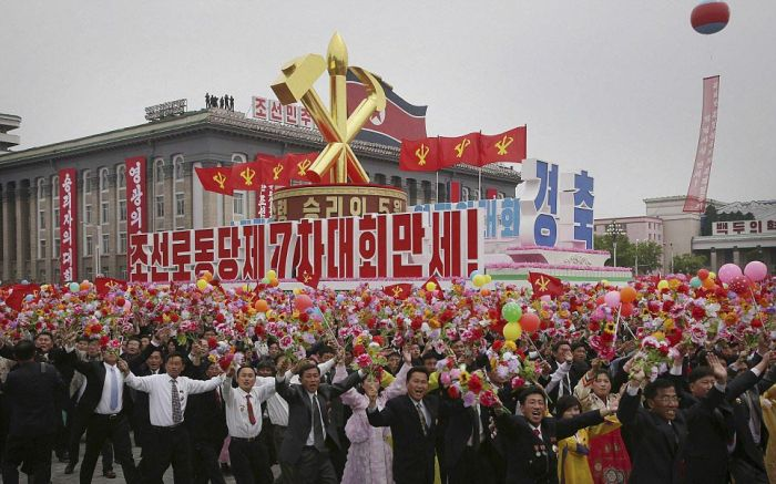 Hundreds Of Thousands Of North Koreans Gather To Celebrate With Kim Jong Un