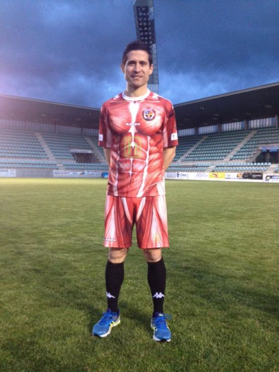 Spanish Football Club Wears Their Insides On The Outside