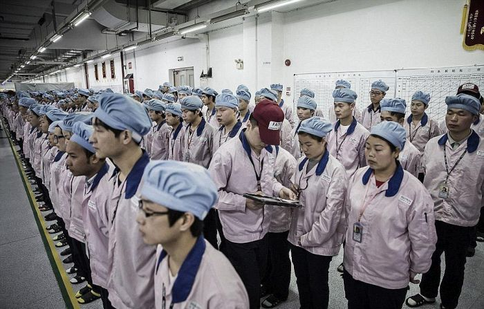 The Sad Reality Of What Life Is Like For An iPhone Assembler
