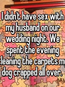 Brides Share Their Stories About What Went Down On Their Wedding Night