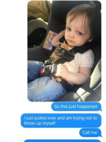 Everything Went Horribly Wrong When This Dad's Toddler Puked