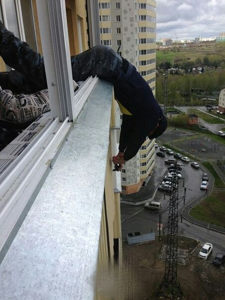 It's Important To Stay Safe When You're Working In High Places