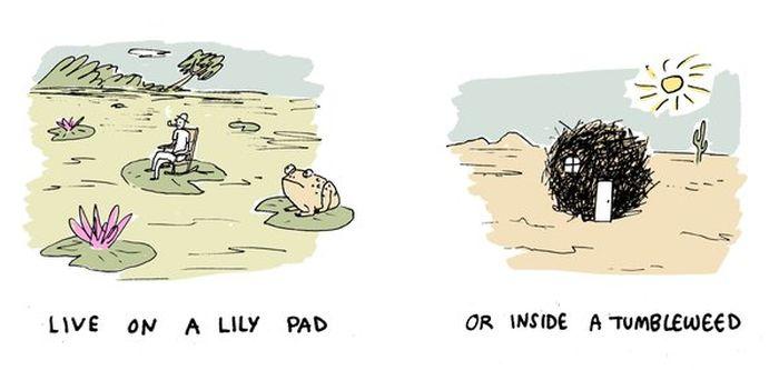 Artist Asks Strange Would You Rather Questions Using Unique Illustrations
