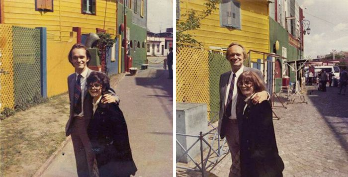 Couples Prove That True Love Is Real By Recreating Old Photos