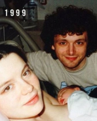 Kate Beckinsale, Michael Sheen And Their Daughter Recreate A Photo From 1999