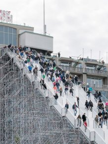 Gigantic Scaffold Staircase In Rotterdam Now Open For A Limited Time
