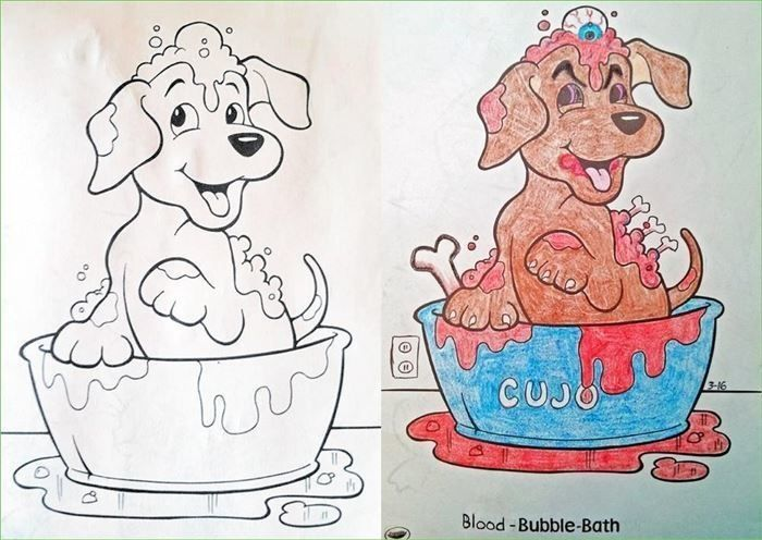 - Children's Coloring Books That Were Violated By Adults Others