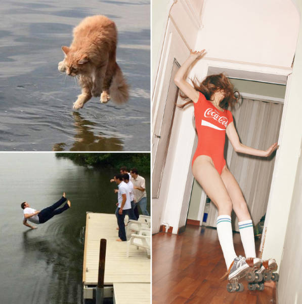 Perfectly Timed Pictures That Were Snapped Seconds Before A Disaster