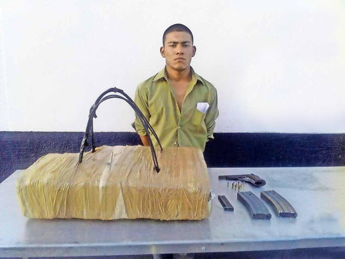 Man Tries And Fails To Disguise Drugs As A Backpack While Crossing The Border