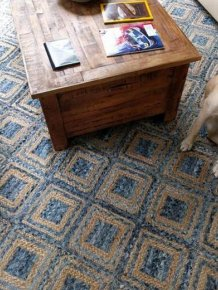 Can You Spot The Snowman Hiding In This Rug?