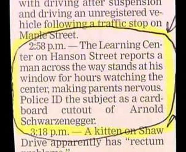 Hilarious Hidden Gems That Were Found In Bizarre Police Reports
