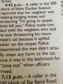 Hilarious Hidden Gems That Were Found In Bizarre Police Reports