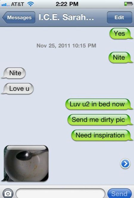 Unwanted Flirty Texts That Were Met With Cold Responses