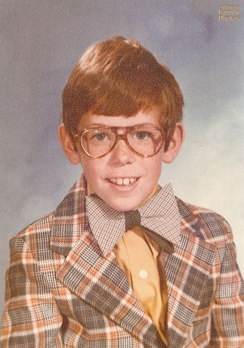 Awesome School Photos That Were Taken During People's Awkward Years