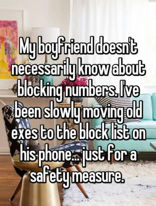 Women Reveal The Crazy Things That They've Done Behind Their Boyfriend's Back