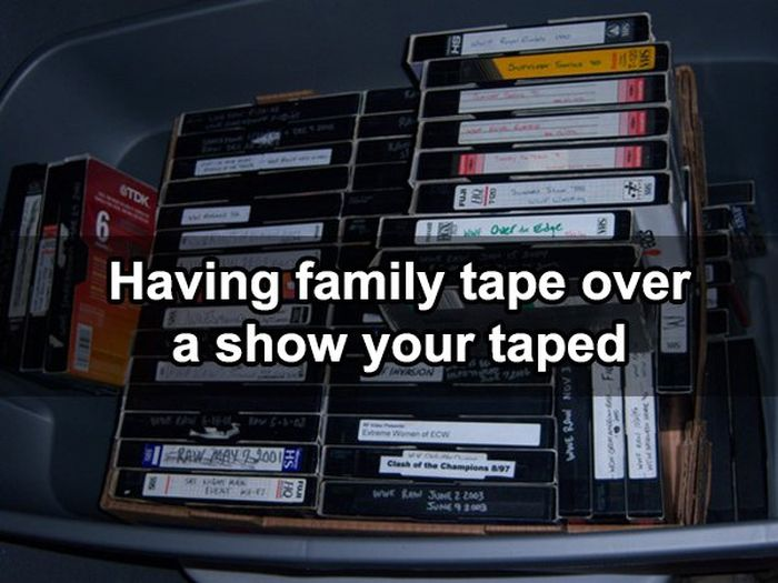 Serious Struggles That All 90's Kids Had To Deal With