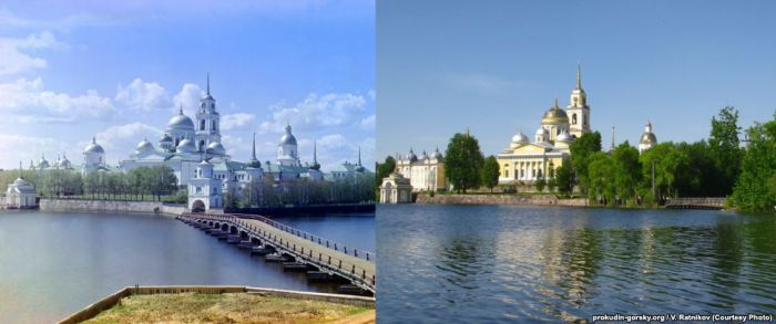 Recreating Old Photos From The Russian Empire