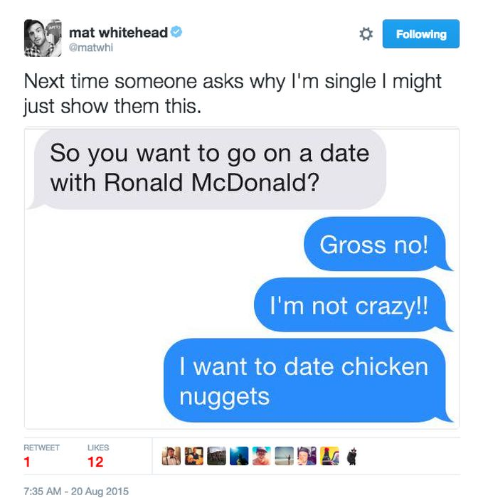 Hilarious Tweets That Sum Up What Its Like To Be Single Fun - 20 hilarious tweets that sum up what its like dating someone