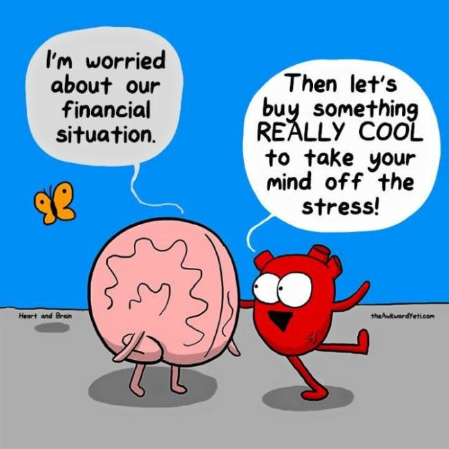 Funny Comics That Show The Biggest Differences Between The Heart And The Mind
