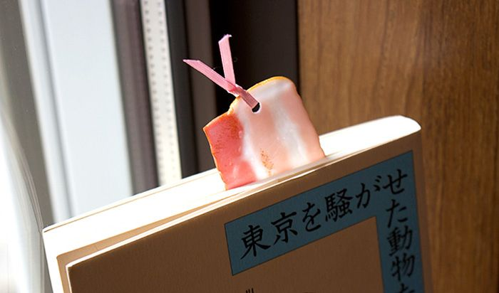 Put A Piece Of Bacon In Your Book With Realistic Food Bookmarks From Japan