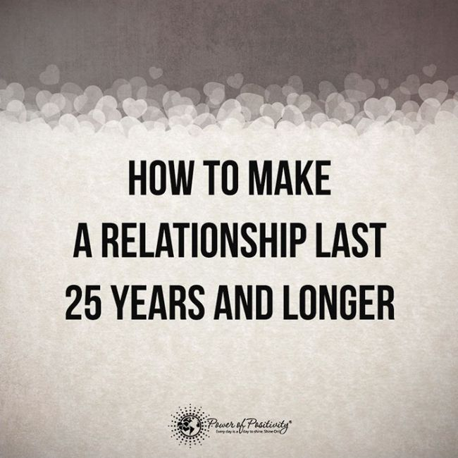 Tips To Help You Make Your Relationship Last 25 Years