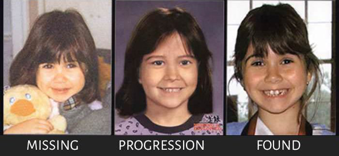Reliable Age Progression Pictures From Missing Persons Reports