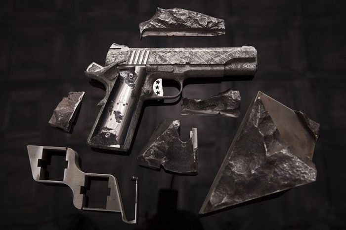 An American Company Is Selling Guns That Were Made From A Meteorite