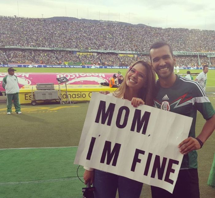 An Instagram User Is Traveling The World And Telling His Mom He's Fine