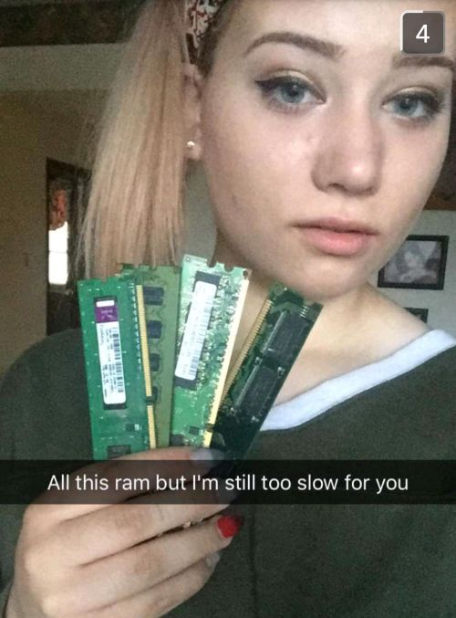 Girl Sends Boyfriend A Hilarious Snapchat Story Packed With Computer Puns