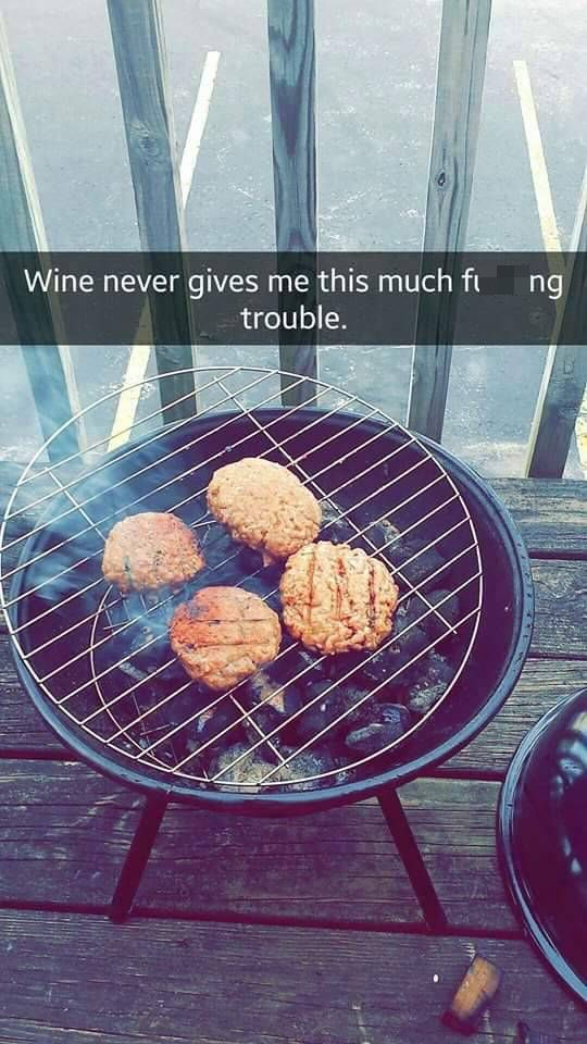 Girl Grills For The First Time And Shares The Experience On Snapchat