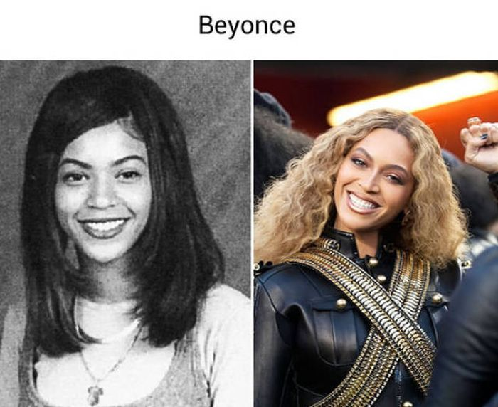 Old School Photos Of Popular Celebrities Before They Made It Big