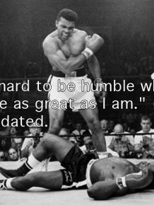 Tribute to Muhammad Ali