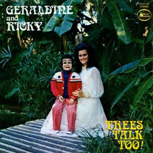 Ventriloquist Album Covers That Will Terrify You