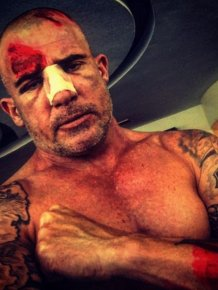 Dominic Purcell Suffered A Broken Nose While Filming Prison Break In Morocco
