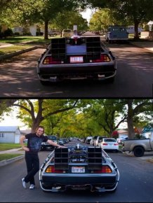 Man Visits Famous Movie Locations To Show What They Look Like Today