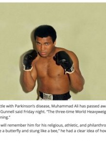 Muhammad Ali Left Behind An Incredible Legacy