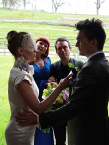 Actor Rupert Friend Secretly Ties The Knot With Aimee Mullins