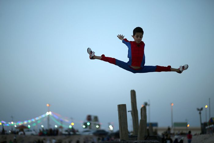 See Why People Are Calling This 12 Year Old Kid Spider-Man