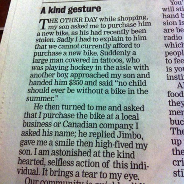 Wonderful Acts Of Kindness That Will Restore Your Faith In Humanity