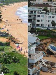 Wild Weather Rocks The Coast Of Sydney