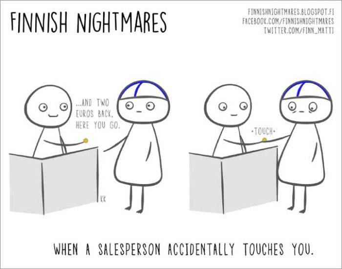 Funny Comics About Finnish Nightmares That Even Non-Finns Will Laugh At