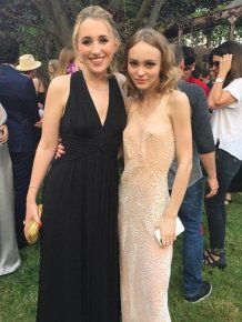 Johnny Depp's Daughter Lily-Rose Attends Prom With Kevin Smith's Daughter