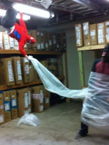 Sometimes You Have To Let Loose And Have A Little Fun At Work