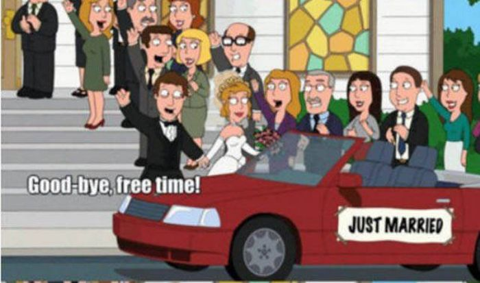 Family Guy Perfectly Explains Everything Men Give Up When They Get Married