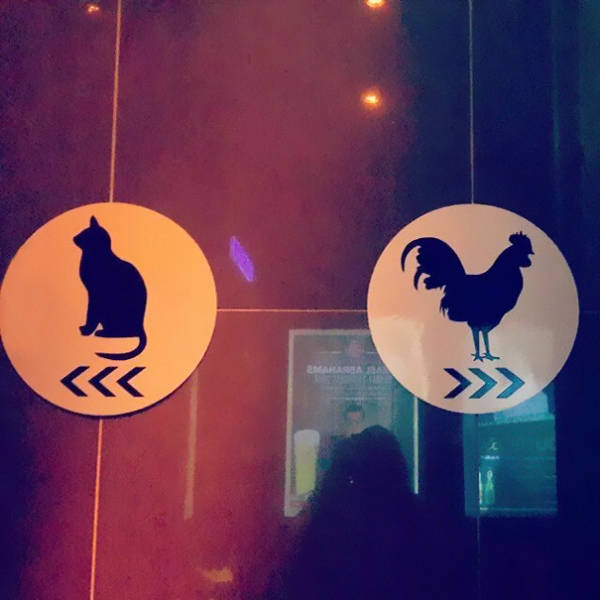 Amusing Bathroom Signs That Get Straight To The Point