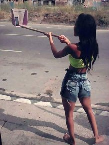 Cheap People Who Found Creative Ways To Avoid Buying A Selfie Stick