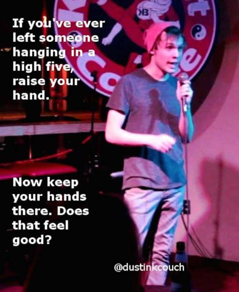 Enjoy This Healthy Dose Of Witty Stand Up Comedy Jokes